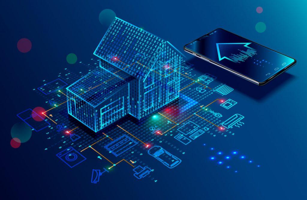 Internet das coisas, smart home, casa inteligente, iot